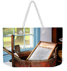 Washboard Weekender Tote Bag