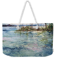 Washed By The Waters Series Weekender Tote Bag