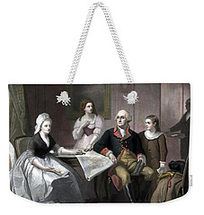 Washington And His Family Weekender Tote Bag by War Is Hell Store