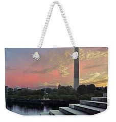 Washington And Steps Weekender Tote Bag