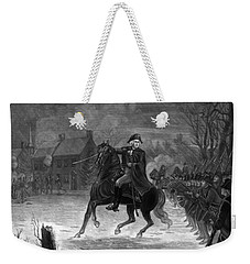 Washington At The Battle Of Trenton Weekender Tote Bag by War Is Hell Store