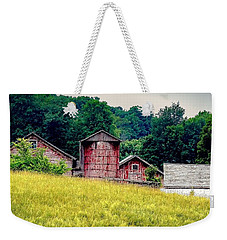 Weekender Tote Bag featuring the photograph Washington County Vignette by Kendall McKernon