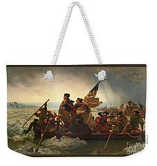 Washington Crossing The Delaware Weekender Tote Bag by John Stephens