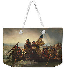 Washington Crossing The Delaware Weekender Tote Bag by War Is Hell Store