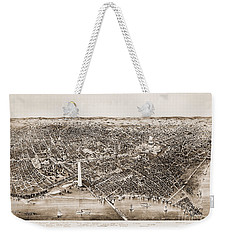 Washington D.c., 1892 Weekender Tote Bag by Granger