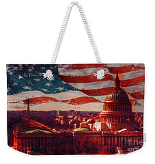 Washington Dc Building 76h Weekender Tote Bag by Gull G