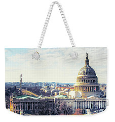 Washington Dc Building 9i8 Weekender Tote Bag by Gull G