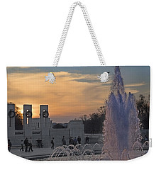 Washington Dc Rhythms  Weekender Tote Bag by Betsy Knapp