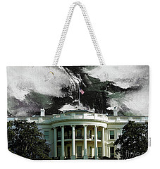 Washington Dc, White House Weekender Tote Bag by Gull G