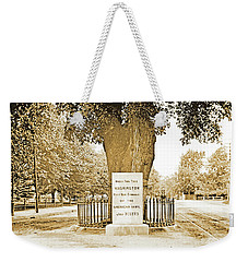 Washington Elm, Cambridge, Massachusetts, C. 1915 Weekender Tote Bag