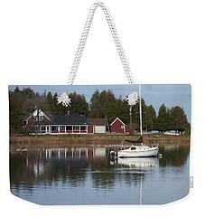 Washington Island Harbor 4 Weekender Tote Bag