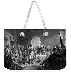 Washington Meeting His Generals Weekender Tote Bag by War Is Hell Store
