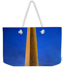 Washington Monument At Dusk Weekender Tote Bag