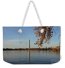 Washington Monument Weekender Tote Bag by Megan Cohen