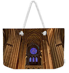 Washington National Cathedral Crossing Weekender Tote Bag