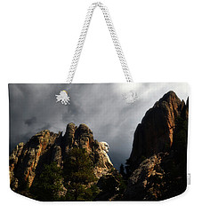 Washington Profile 001 Weekender Tote Bag by George Bostian