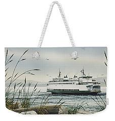 Washington State Ferry Weekender Tote Bag