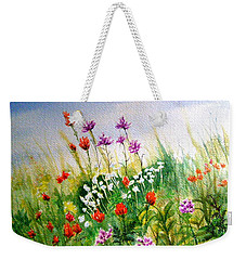 Washington Wildflowers Weekender Tote Bag