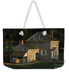 Washington's Headquarters At Valley Forge Weekender Tote Bag by Cindy Manero