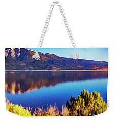 Washoe Morning Weekender Tote Bag