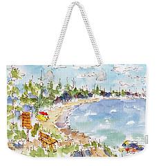 Waskesiu Summer Weekender Tote Bag