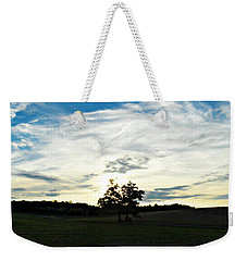 Weekender Tote Bag featuring the photograph Wasting Time by Cyryn Fyrcyd