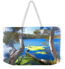 Wat-0002 Avoca Estuary Weekender Tote Bag
