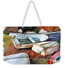 Wat-0012 Tender Boats Weekender Tote Bag