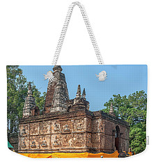Weekender Tote Bag featuring the photograph Wat Jed Yod Maha Vihara Jedyod Dthcm0902 by Gerry Gantt