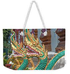 Wat Nam Phueng Phra Wihan Naga Guardians Dthla0007 Weekender Tote Bag