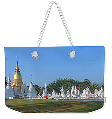 Wat Suan Dok Reliquaries Of Northern Thai Royalty Dthcm0944 Weekender Tote Bag