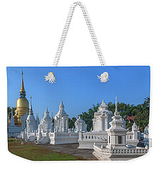 Wat Suan Dok Reliquaries Of Northern Thai Royalty Dthcm0945 Weekender Tote Bag