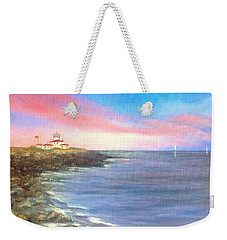 Watch Hill Light House Weekender Tote Bag