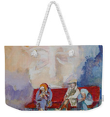 Watch Over Me Weekender Tote Bag by Mary Armstrong