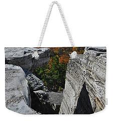 Watch Your Step Weekender Tote Bag