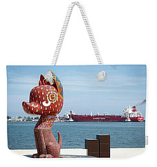 Watchdog Weekender Tote Bag