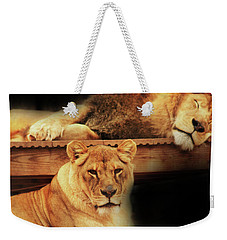 Watchful Eye Weekender Tote Bag by Kim Henderson