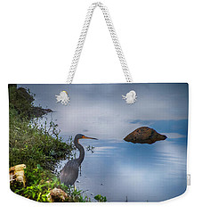 Weekender Tote Bag featuring the photograph Watchful  by Judy Hall-Folde