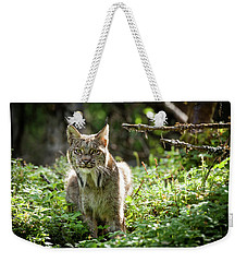 Watchful Mama Lynx Weekender Tote Bag