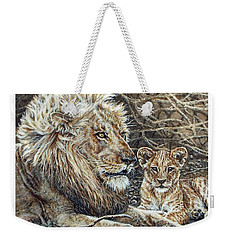 Watching And Waiting Weekender Tote Bag