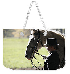 Weekender Tote Bag featuring the photograph Watching by Carol Lynn Coronios
