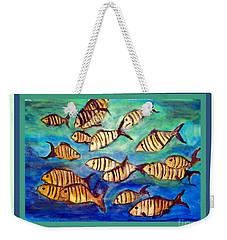 Watching Fish Weekender Tote Bag