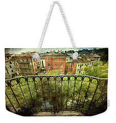 Watching From The Balcony Weekender Tote Bag