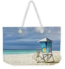 Lifeguard Tower Florida Gulf Coast Weekender Tote Bag