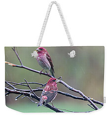 Weekender Tote Bag featuring the photograph Watching Over You by Susan Capuano