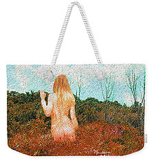 Watching Summer's Finale Weekender Tote Bag