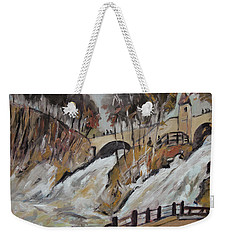 Watching The Cascades De Coo Weekender Tote Bag