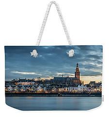 Watching The City Lights, Nijmegen Weekender Tote Bag