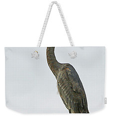 Weekender Tote Bag featuring the pyrography Watching The Harbor by Shoal Hollingsworth