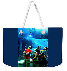 Watching The Penguins Fly Weekender Tote Bag
